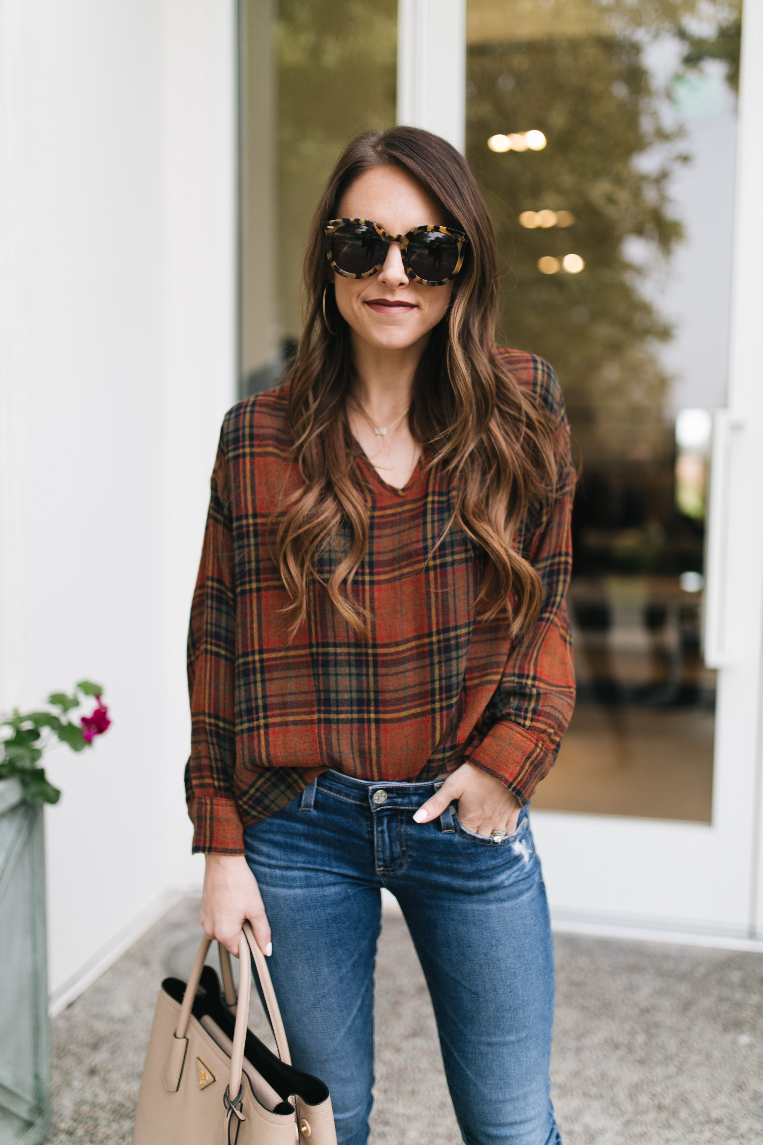 Style blogger Daryl-Ann Denner shares ten comfortable thanksgiving day outfit ideas