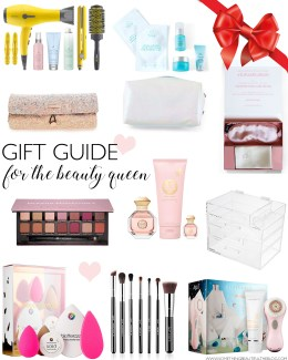 Style blogger Daryl-Ann Denner shares beauty gift ideas for the women on your holiday gift list