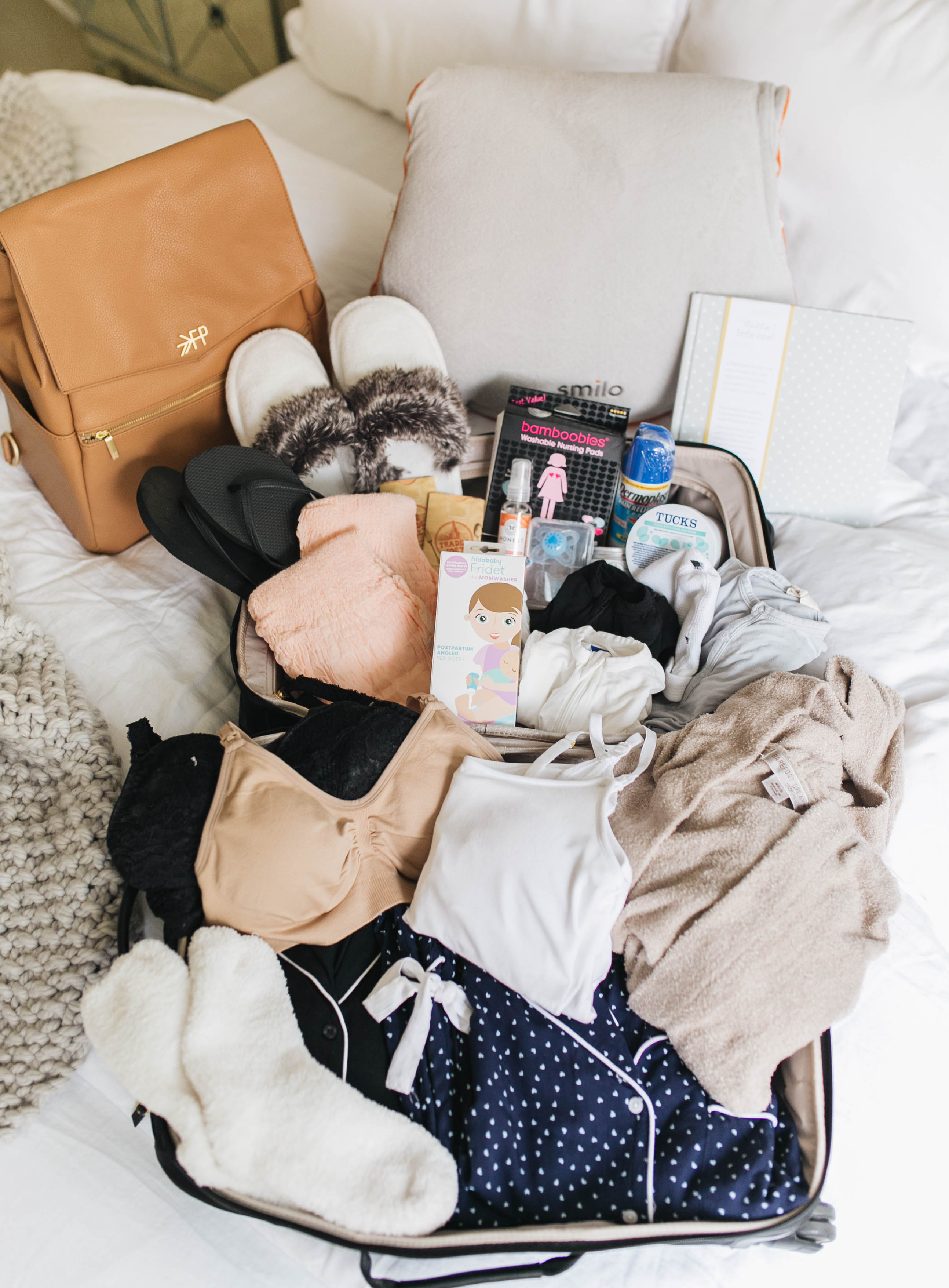 8f0013434c4c3 What I'm Packing in My Hospital Bag | Something Beautiful