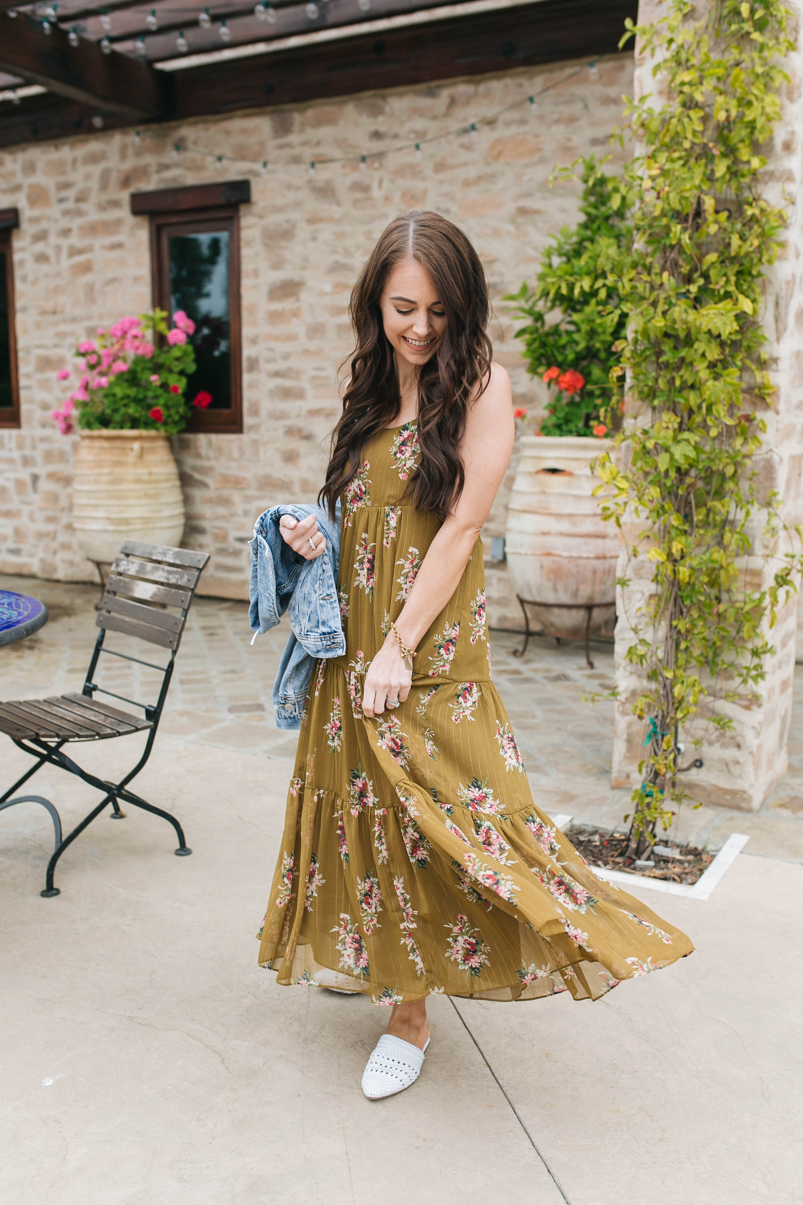 inexpensive floral maxi dress etsy 0d78a aea45