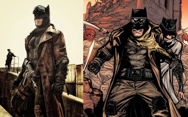 The Knightmare batsuit.