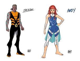 Aquaman and Aquawoman of Future State.