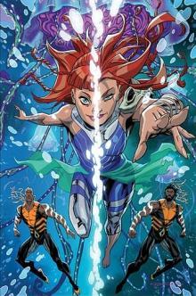 The Aquaman and Aquawoman of Future State.