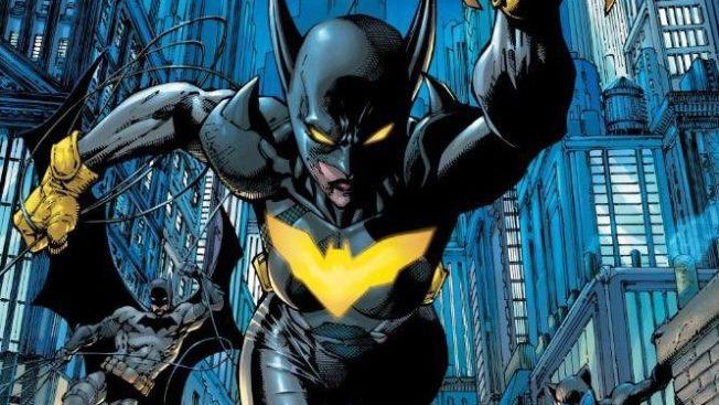 Helena Wayne is Batman in Batman/Catwoman.