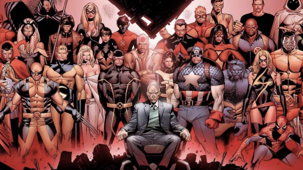 House of M, on of the most disappointing events in Marvel history.