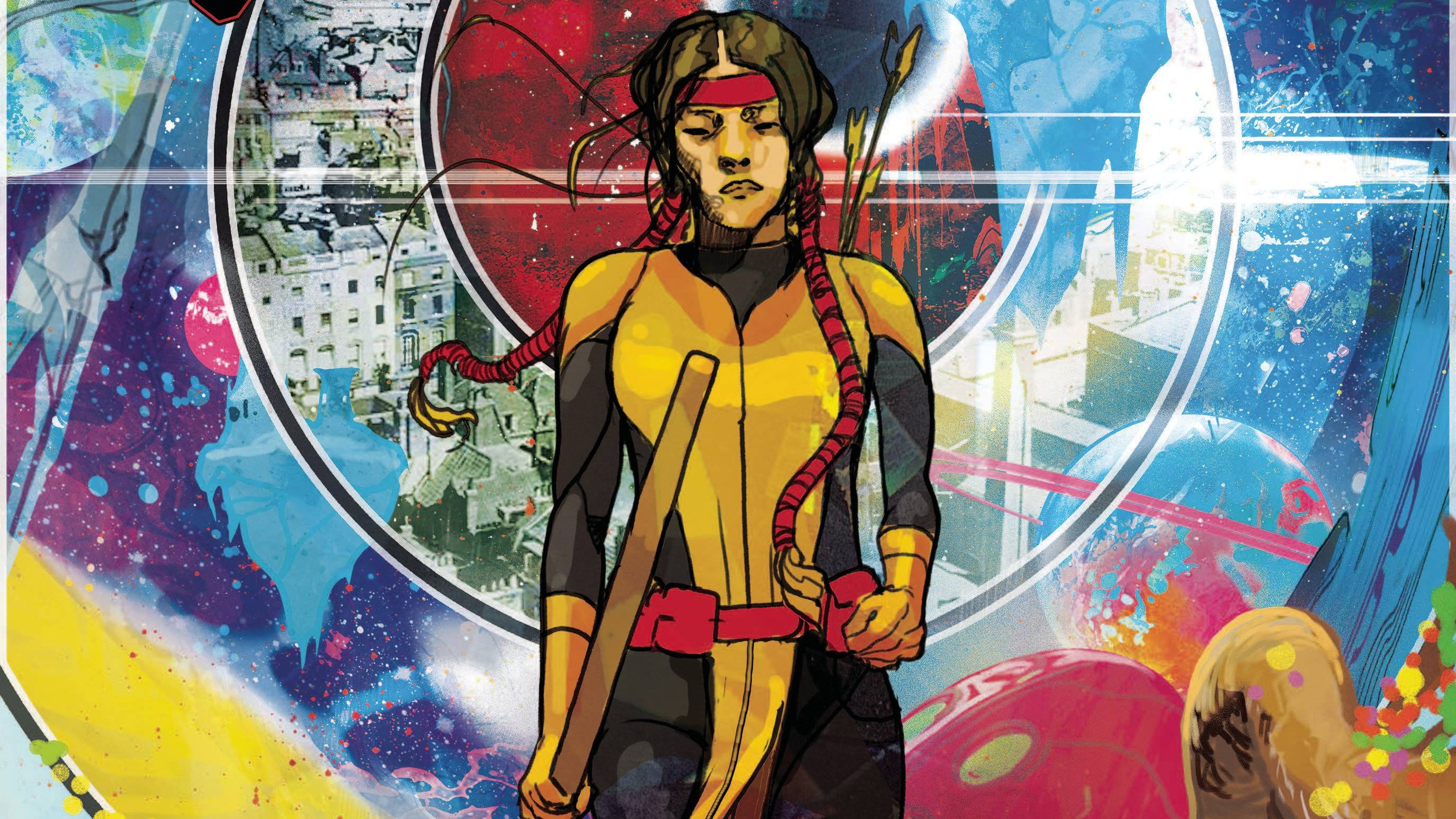 Mirage has come to kick butt and chew bubble gum in New Mutants #17.