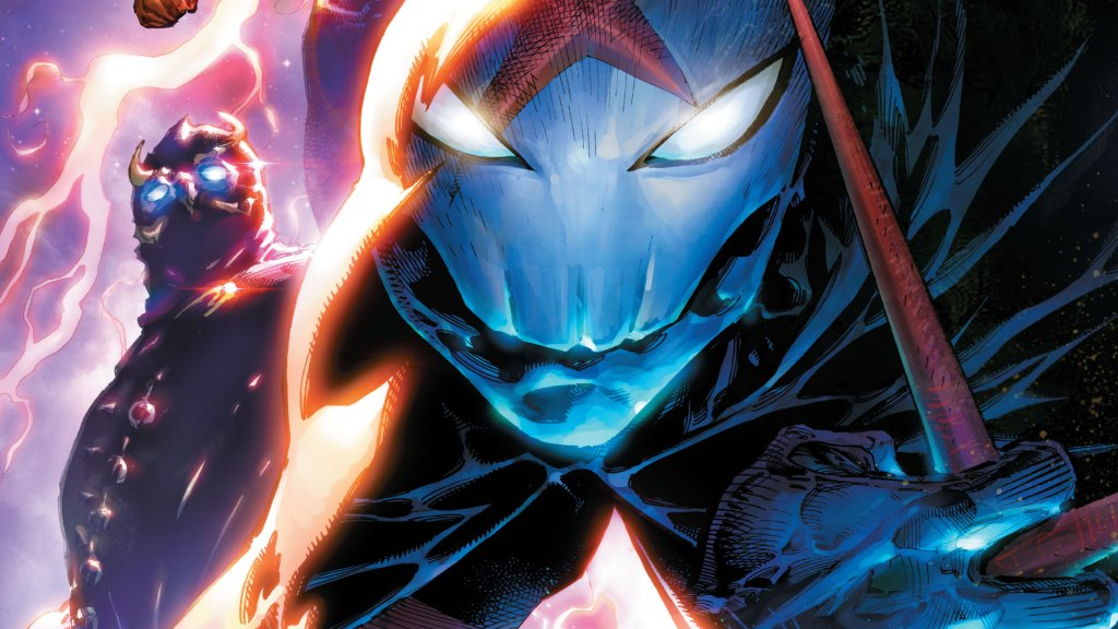 The mask of Red X, next to Talon.