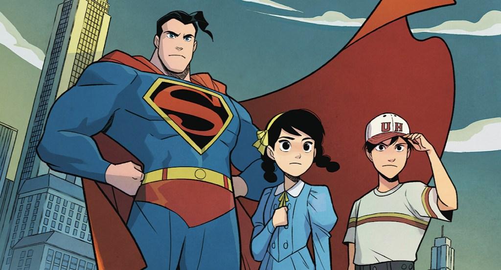 Superman Smashes the Klan.