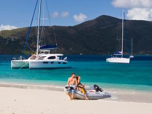 Dallas Social Media Speaker J.R. Atkins sails the islands of the BVI