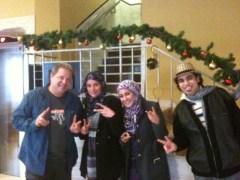 Social Media Speaker & Trainer J.R. Atkins meeting with techies in Palestine