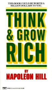 Author J.R. Atkins recommends think & grow rich