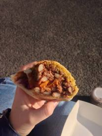 vegan burrito - pacha mama burritos