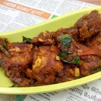 Kerala Chicken Roast #AtoZChallenge