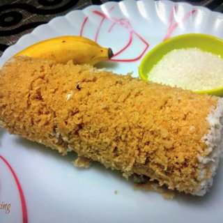 Gothambu Puttu (Steamed Wheat Cake)