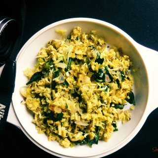 Scrambled Eggs with Grated Coconut (Mutta Thoran)