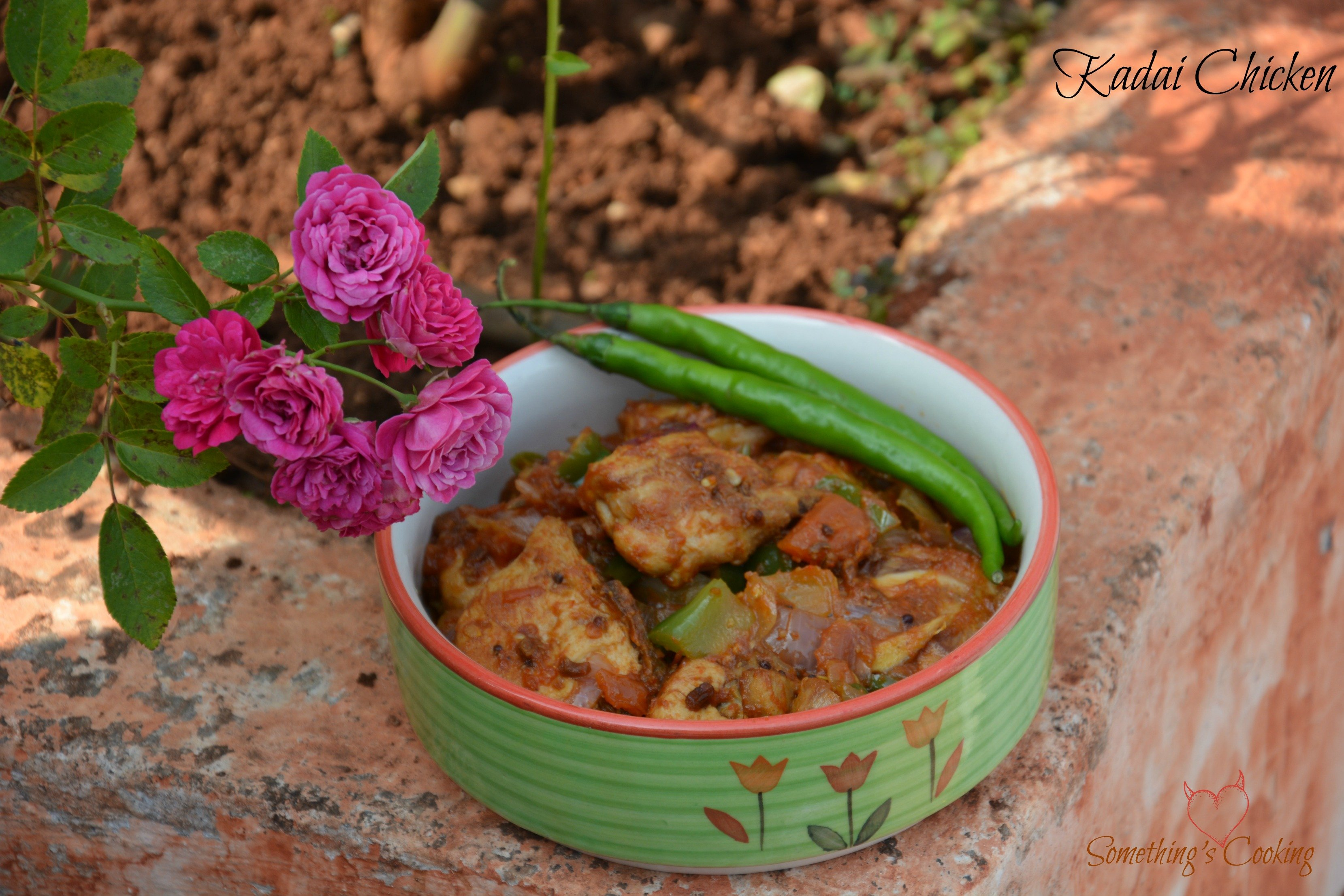Kadai Chicken1