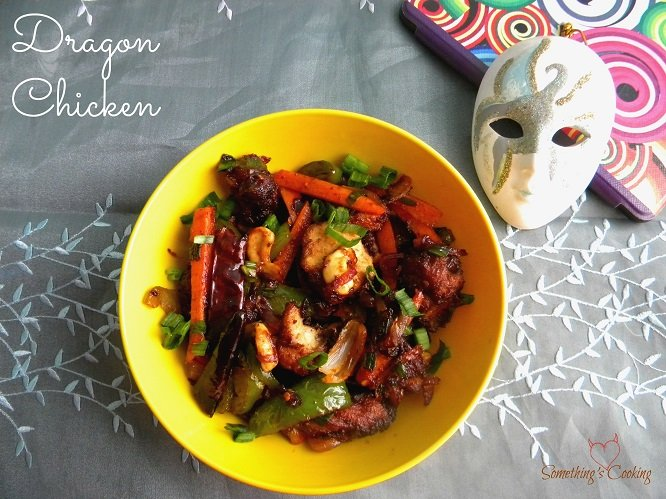 Dragon Chicken - Recipe - Chinese