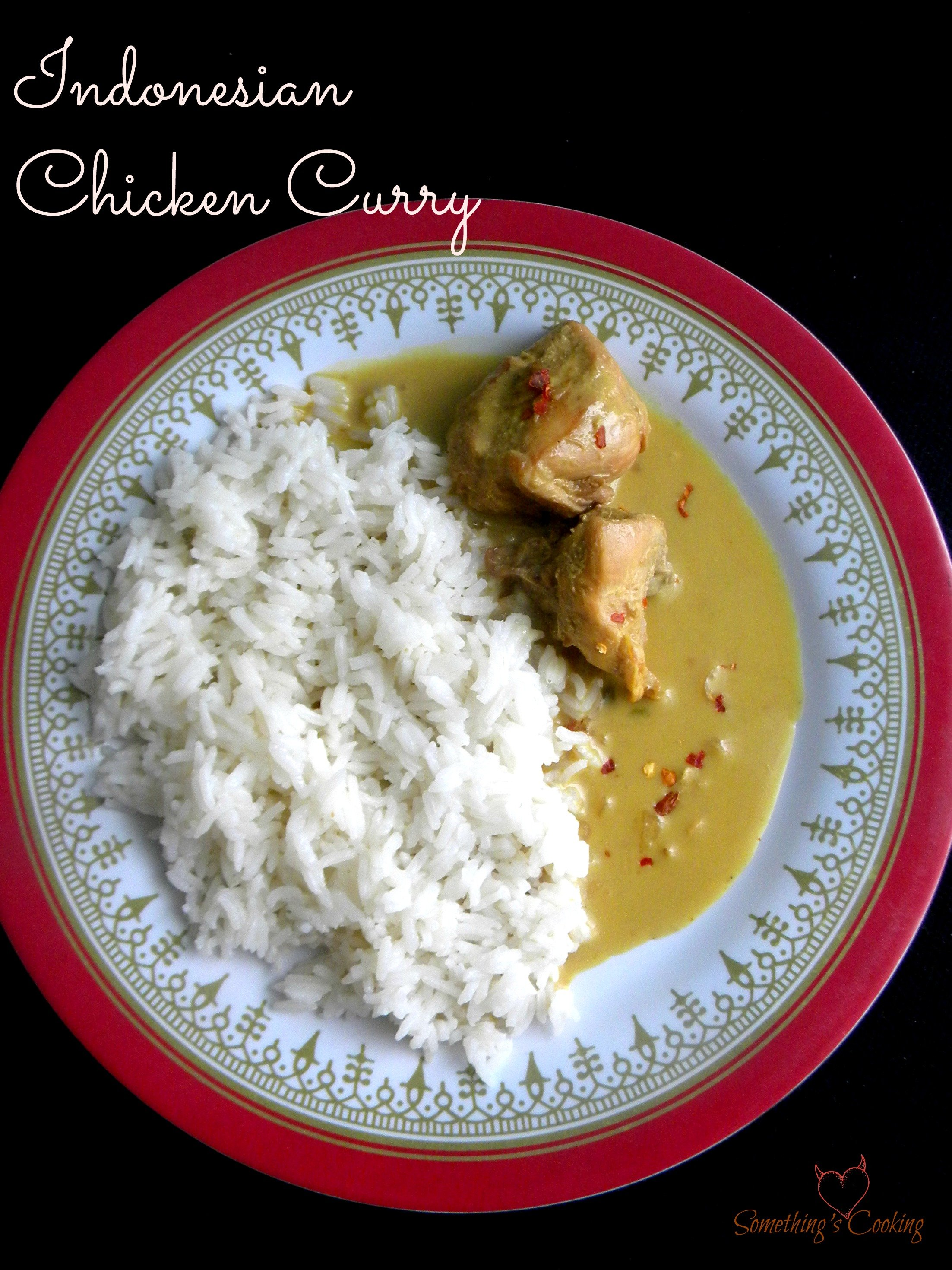 Indonesian Chicken Curry1