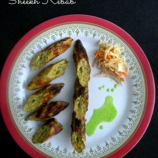 Chicken Sheekh Kebab #AtoZChallenge