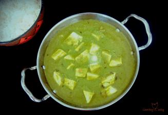 How to make Palak Paneer- Palak Paneer masala
