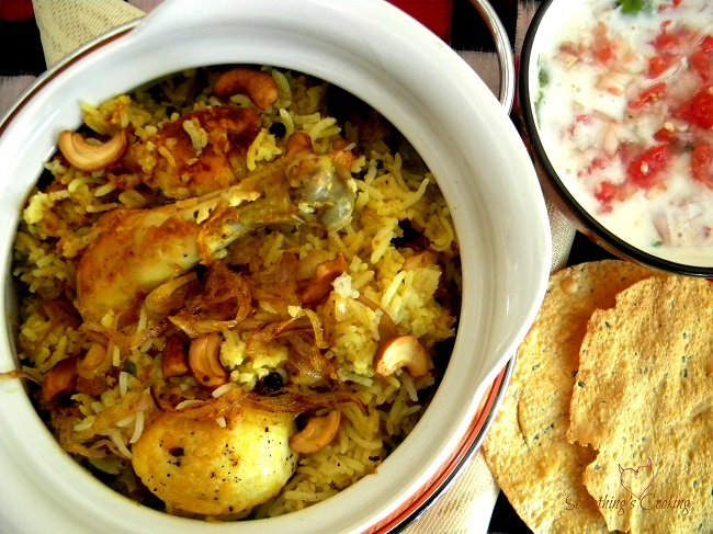 Chicken Biriyani - Recipe - Image - Indian cuisine