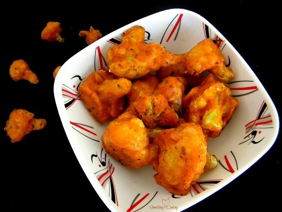 Cauliflower 65 Dry - Gobi 65- Recipe - Images