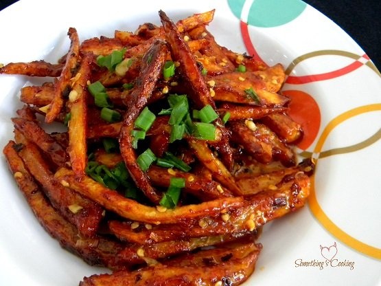 Honey Chilli Potatoes
