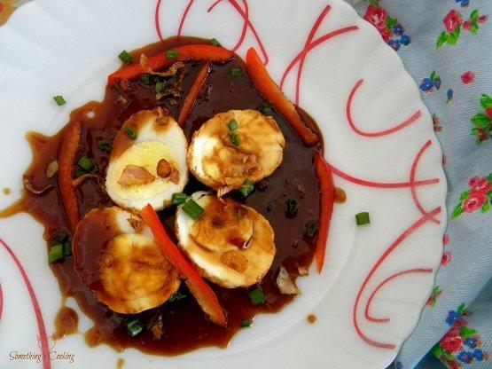 Son in law eggs - khai luuk kheuy - Thai