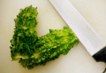Pavakkai Fry - Bitter Gourd - Karela - Recipe
