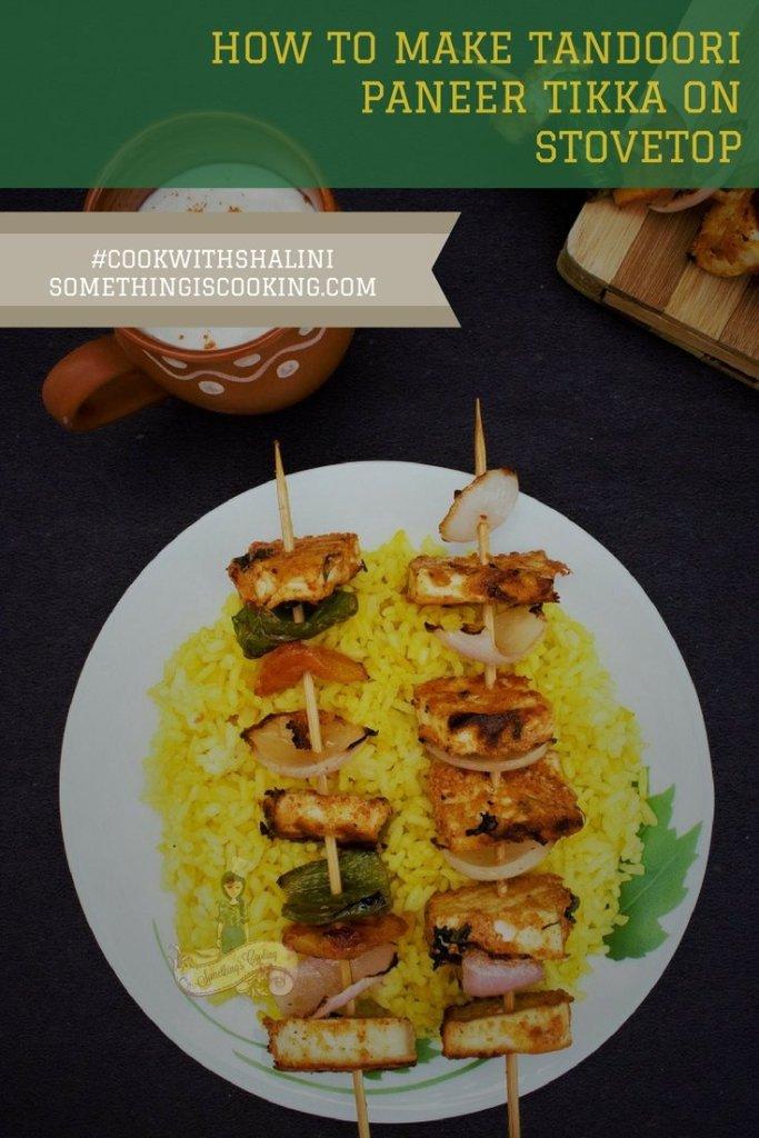 Tandoori Paneer Tikka Pinterest Indian Appetizer