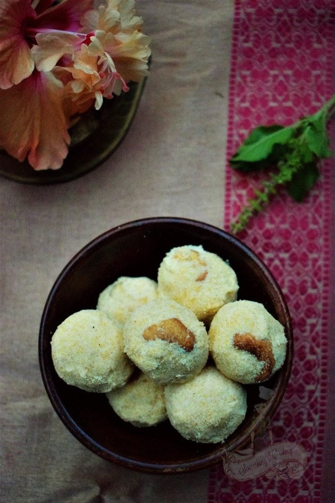 Maladu Recipe - Maa Ladoo - Malad Recipe Kerala
