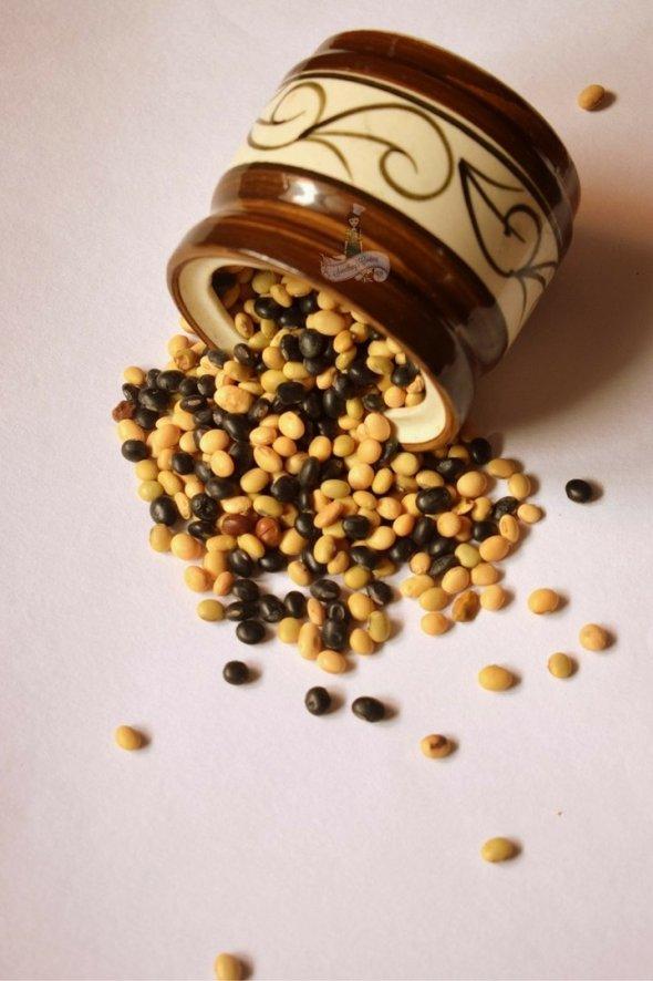 Bhatt ki Dal- benefits of black soyabeans - how to make bhatt ki dal