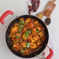 Restaurant Style Kadhai Paneer