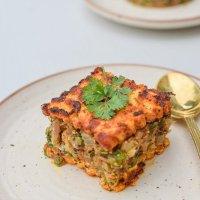 Keto Paneer Steak with Spiced Cauliflower Rice