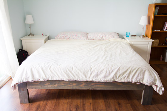 Please Click Here For The Diy Bed Frame Plans