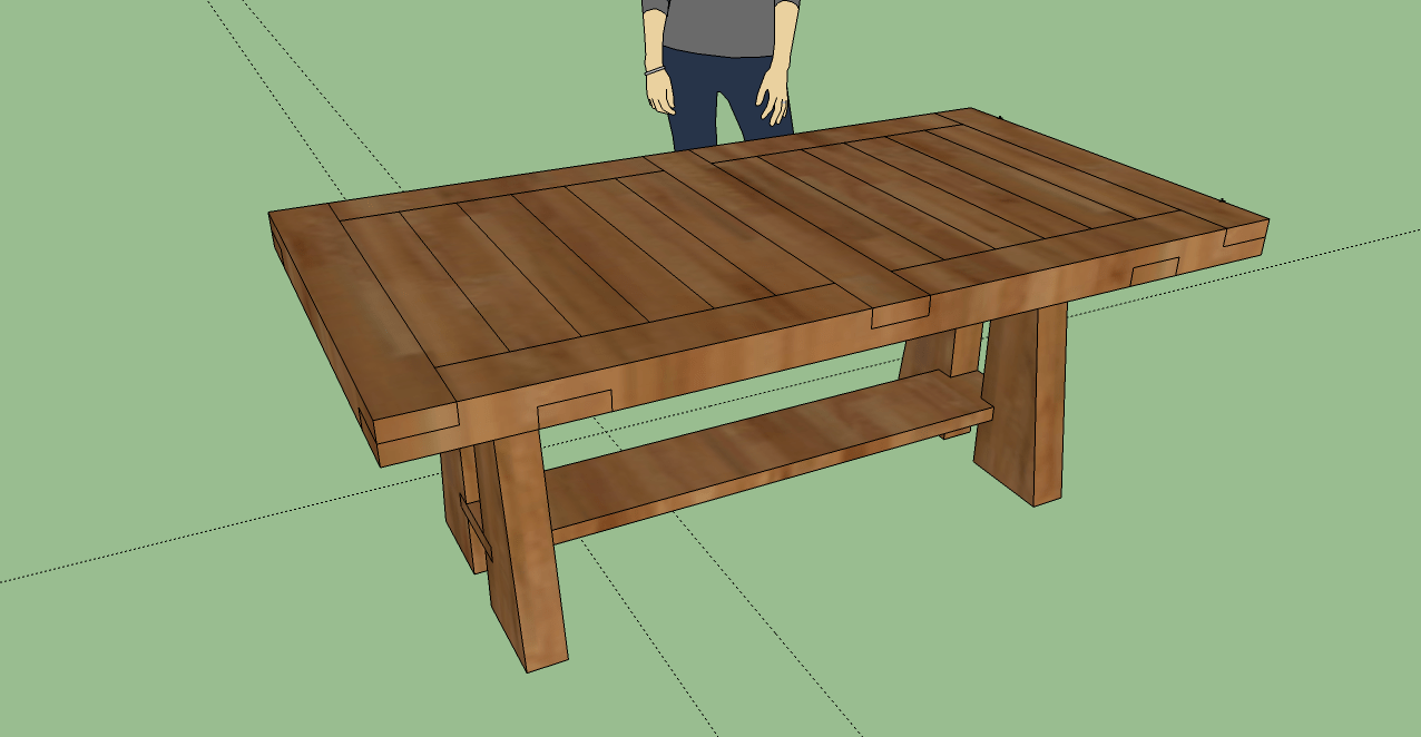 How To Build Dining Table Diy Plans PDF Plans