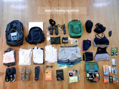Jamies Packing Gear
