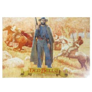 Country Tin Sign by an Australian Artist NED KELLY LEGEND Metal Plaque New