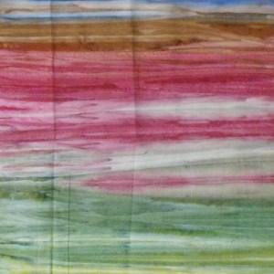 Quilting Patchwork Sewing Fabric BATIK MURKY RAINBOWS Cotton 50x110cm Half Meter NEW