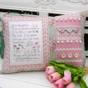 Sally Giblin Rivendale Collection GRANDDAUGHTER Sewing Quilting Cushion Pattern