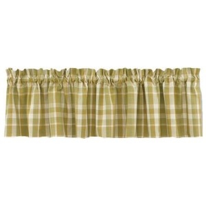 French Country Curtain Ruffled THATCHER Kitchen Window VALANCE New 180X35cm