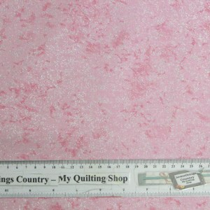 Quilting Patchwork Cotton Sewing Fabric PINK SPARKLE METALLIC 50x55cm FQ NEW Material