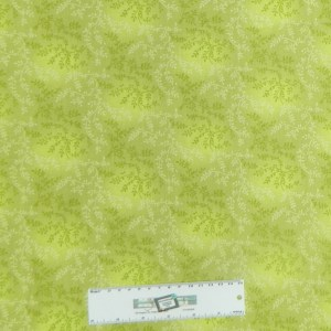 Country Quilting Fabric GREEN VINE Quilt Wide Backing 270x50cm New Queen, King