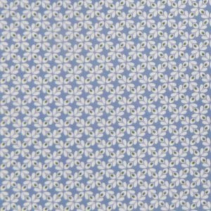 Quilting Patchwork Sewing Cotton Fabric BLUE GEOMETRIC Wider 150x50cm New