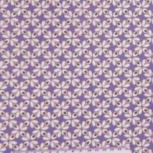 Quilting Patchwork Sewing Cotton Fabric PURPLE GEOMETRIC Wider 150x50cm New