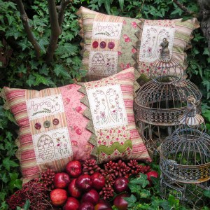 Quilting Sewing Cushion Pattern APPLE HARVEST Sally Giblin Rivendale Collection NEW
