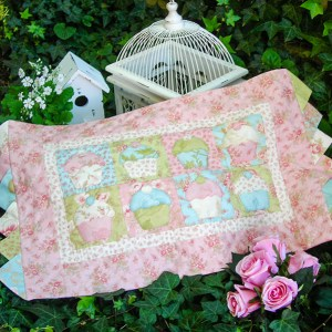 Quilting Sewing TABLE RUNNER Pattern MY LITTLE PATTY Sally Giblin Rivendale Collection NEW