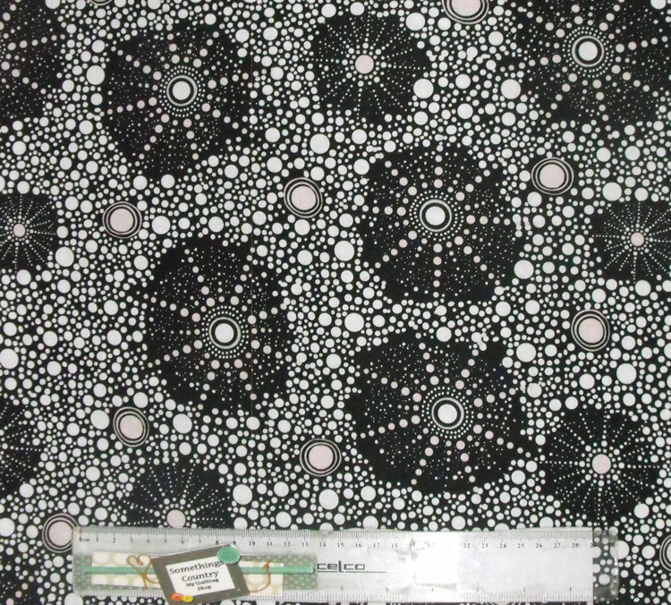 Patchwork Quilting Sewing Fabric ABORIGINAL BUSH DREAMINGS 50x55cm FQ New