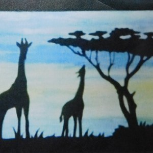 Quilting Sewing African Animal Quilt Pattern including Fabric GIRAFFE New