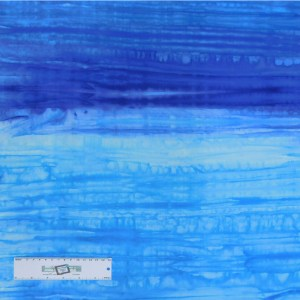 Patchwork Quilting Sewing Fabric Blue Wash Batik 50x55cm FQ New Material